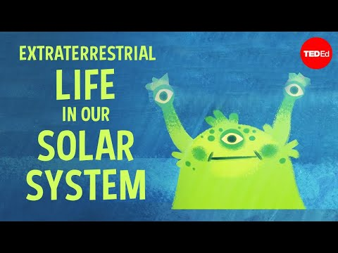 Video image: There may be extraterrestrial life in our solar system - Augusto Carballido