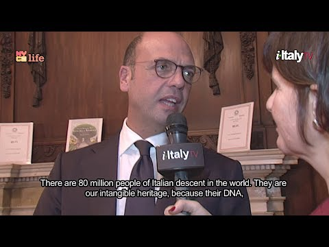 Interview with Minister of Foreign Affairs, Angelino Alfano