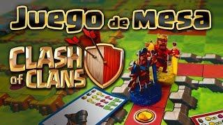 CLASH of CLANS - JUEGO de mesa