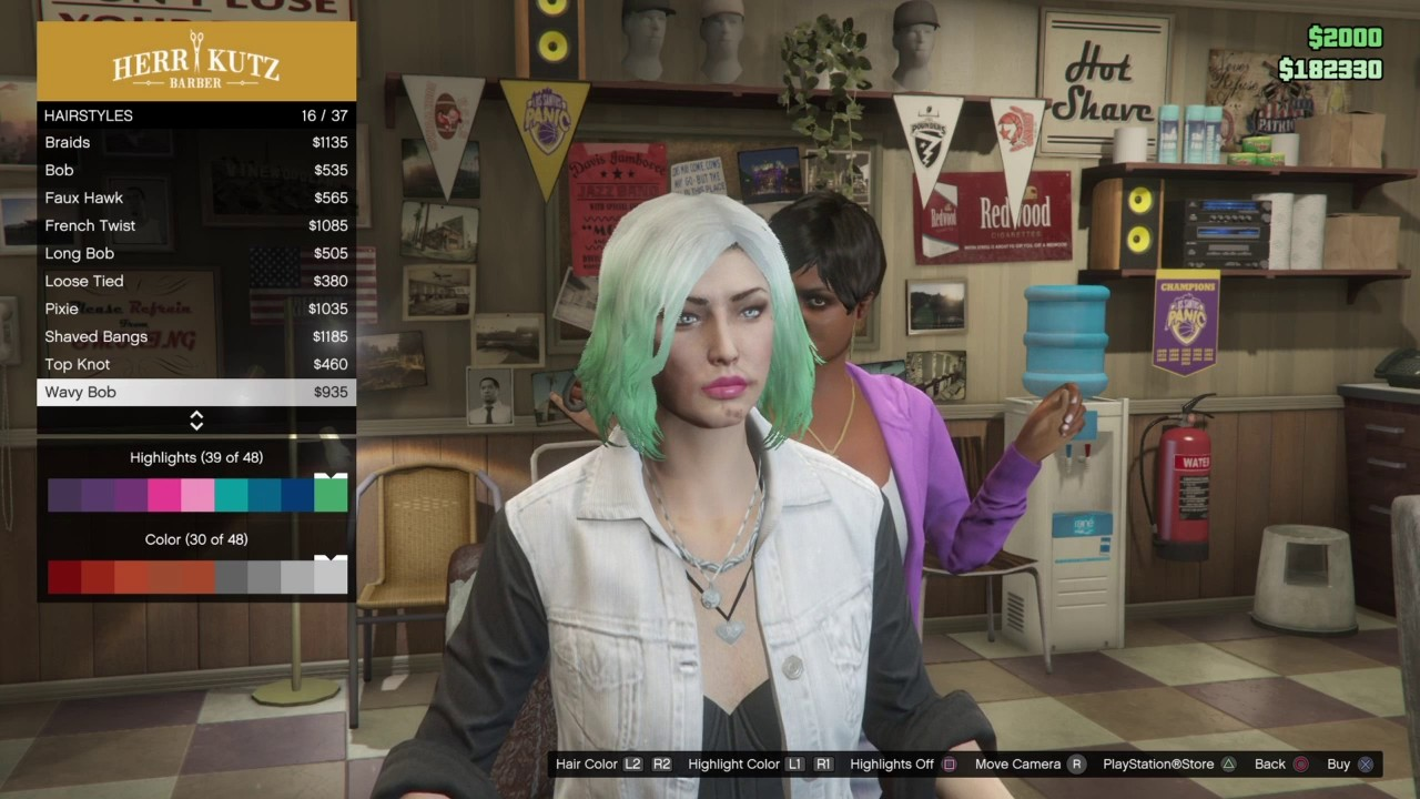 How to mix your hair color on gta 5 online youtube how to mix your hair color on gta 5 online voltagebd Choice Image