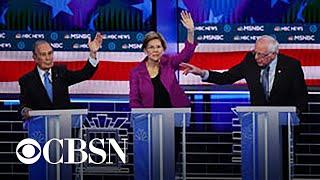 Candidates clash during fiery Las Vegas debate