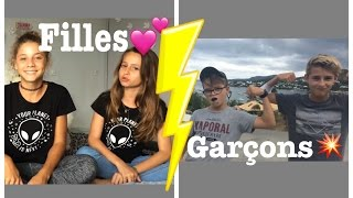 Filles contre Garçons