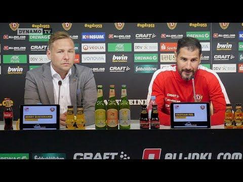 31. Spieltag | FCI - SGD | Pressekonferenz vor dem Spiel