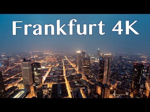 Frankfurt Skyline Drone 4K II WORLD IN 4K