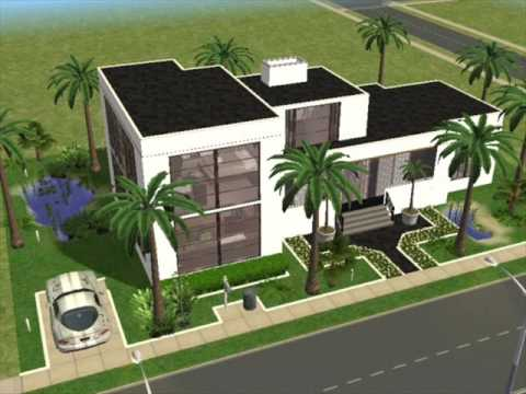Ultra modern house plans sims 3 on efficiency house floor plans