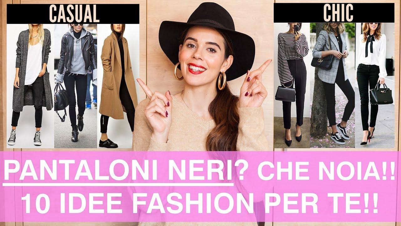 Come Abbinare I Pantaloni Neri 10 Outfits Super Di Moda Da Copiare