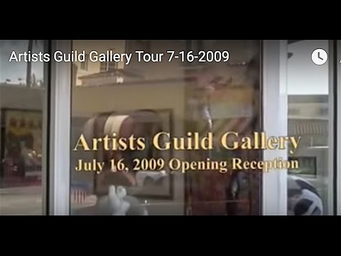 Artists Guild Gallery Tour 7-16-2009