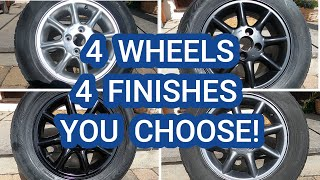 HOW TO SPRAY PAINT YOUR WHEELS/RIMS-PAINT LIKE A PRO AT HOME FOR LESS THAN £30-DYI THE RIGHT WAY !!