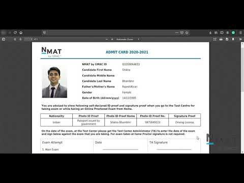 NMAT Registration Step by Step Guide