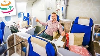 EDELWEISS Business Class A330-300 | YourTravel.TV