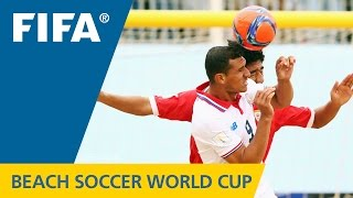 HIGHLIGHTS: Oman v. Costa Rica - FIFA Beach Soccer World Cup 2015