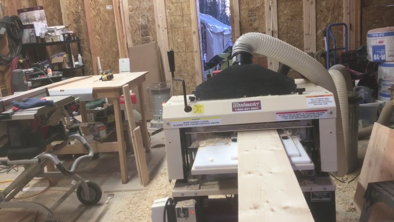 Making log siding with a Woodmaster 718 and three sided molding attachment