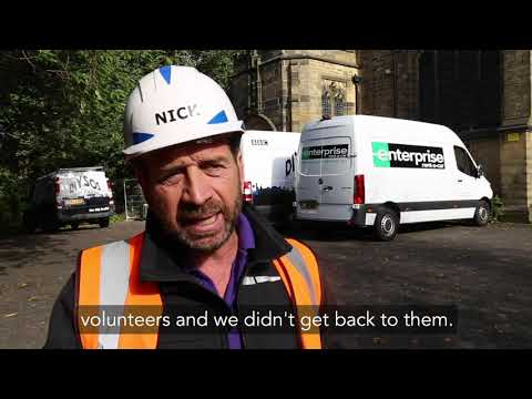 Nick Knowles - Blackburn DIY SOS