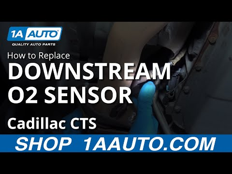 How to Replace Downstream O2 Sensors 03-07 Cadillac CTS