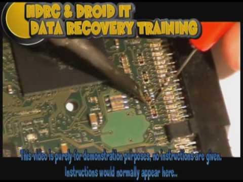 Hard Drive PCB Repair Training