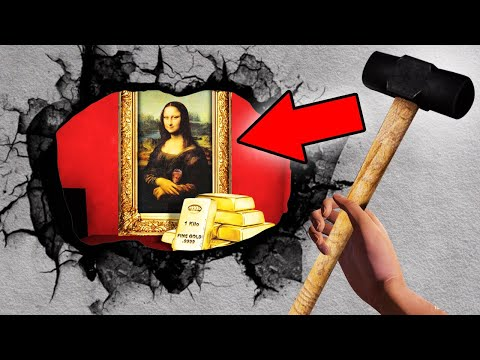 I FOUND A $100,000,000 PAINTING IN A SECRET ROOM! (House Flipper)