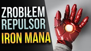 Repulsor Iron Mana!  - Drukowanie 3D z Dymem