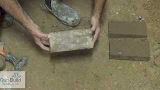 How to split bricks with your bare hands.