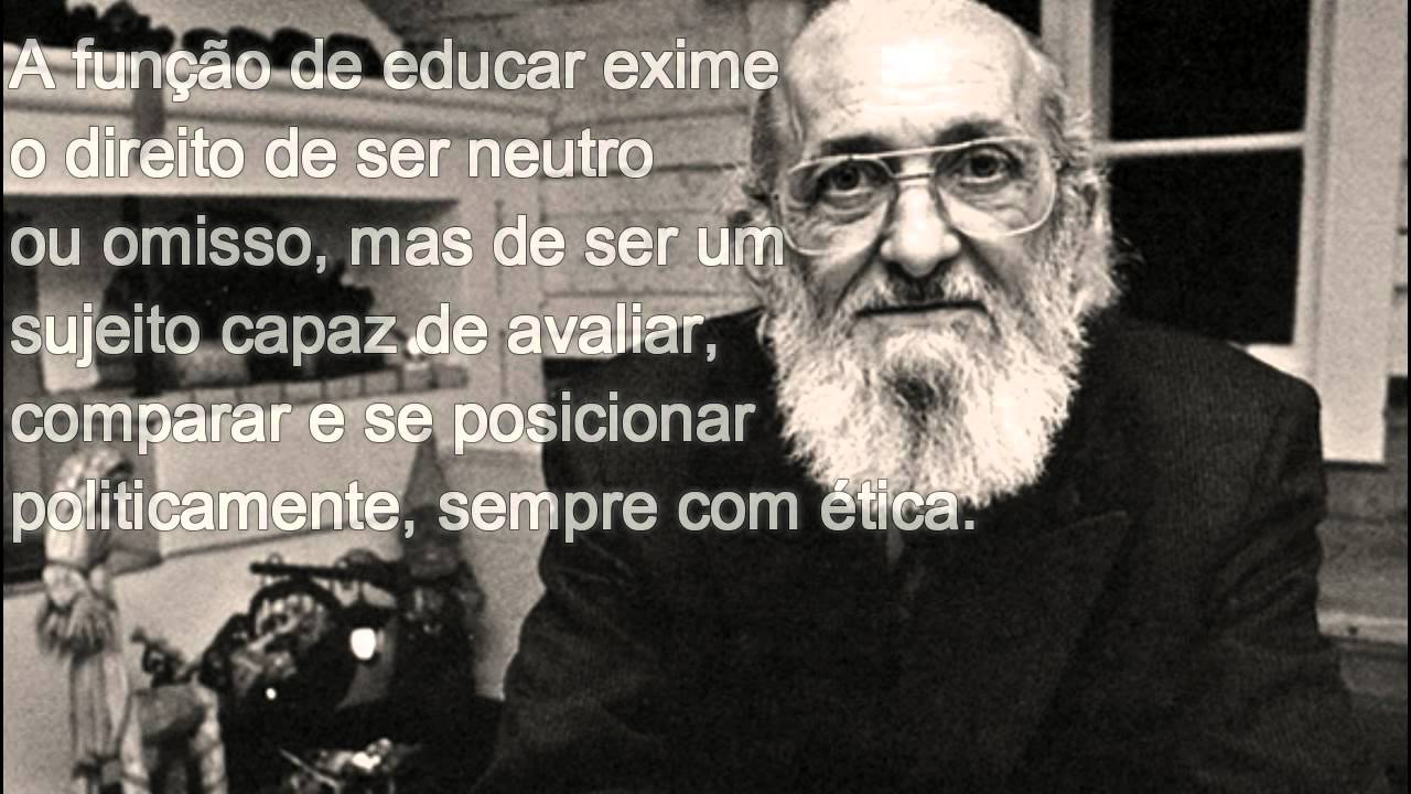 the ideas of paulo freire Paulo freire (1921-1997) was one of the best known and most influential  the  coup leaders exiled freire, they ironically set up the conditions for his ideas to.