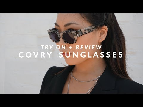 Asian Fit Sunglasses - Covry Review + Try On | JULIA SUH