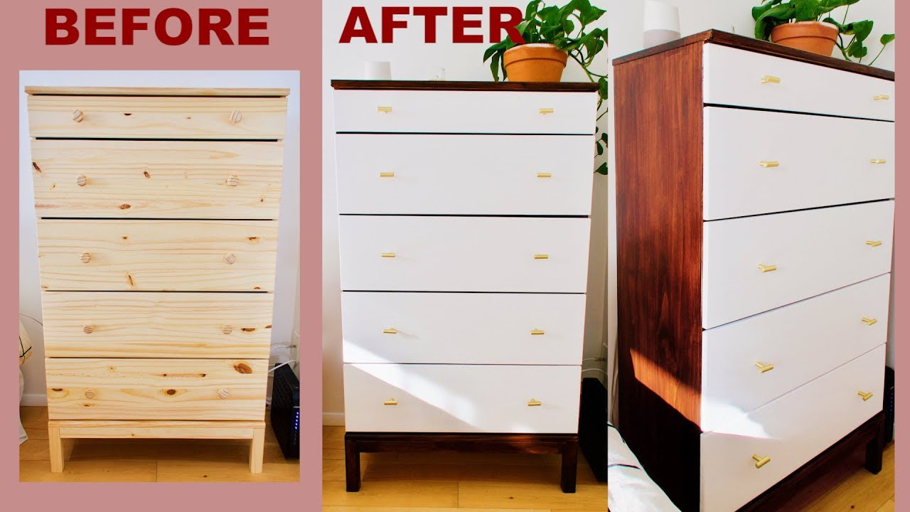 Turn An Ordinary Ikea Dresser Into Mid