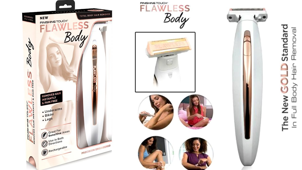 Flawless Body Hair Remover Review & Demo - YouTube