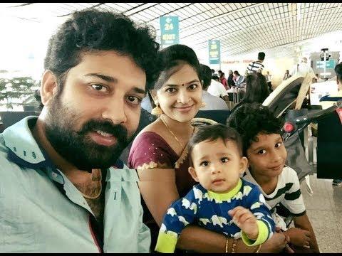 Actor Siva Balaji and Wife Madhumitha With Kids Family Video | Sivabalaji  Family - YouTube