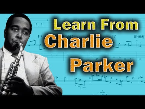 How Charlie Parker Licks can help you play better Jazz Guitar 🎸 - Bebop Jazz Guitar Lesson