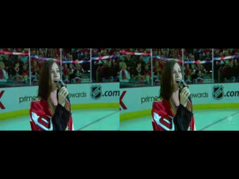 Alanis Morissette - US and Canadian National Anthems - 2007