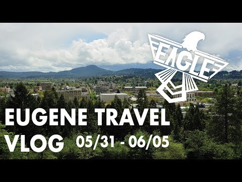EUGENE TRAVEL VLOG (05/31 - 06/05) - Oregon, PD3 First Look, Mystery Box Unboxing, And Hay Bales.