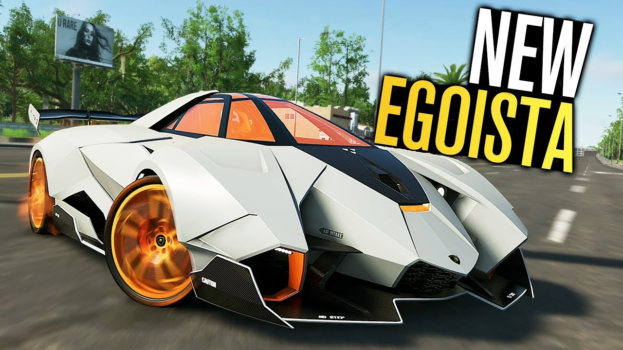 The Crew 2 New Lamborghini Egoista Customization Hot Shots