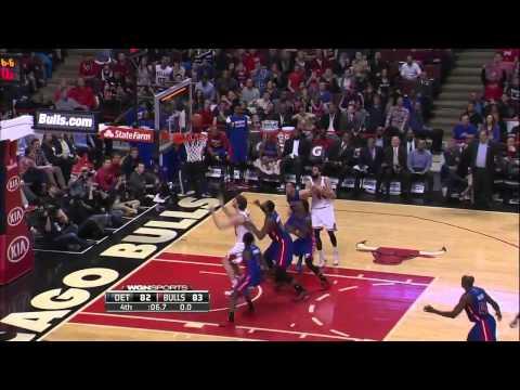 Detroit Pistons vs Chicago Bulls - Full Highlights - April 03, 2015 NBA Season 2014-15