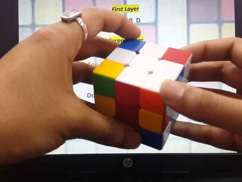 How to Solve Rubik's Cube (Part - III Layer 1) from YouTube · Duration:  12 minutes 13 seconds