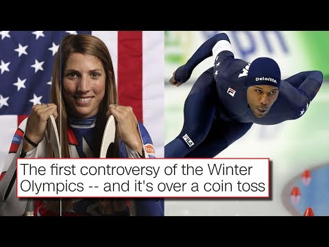 Flag Bearer Coin Toss Drama Already At The 2018 Winter Olympics at Pyeongchang