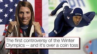 Flag Bearer Coin Toss Drama Already At The 2018 Winter Olympics at Pyeongchang