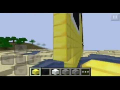 Minecraft - ROCKSTAR GAMES (creating Rockstar games logo)