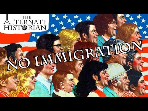 What If There Was No Immigration to the United States?