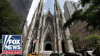 Man arrested for trying to bring gas cans into St. Patrick's Cathedral