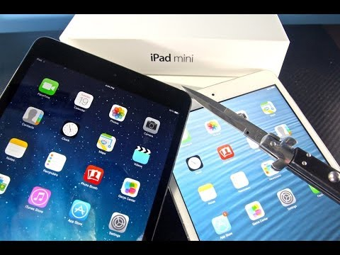 iPad Mini 2 Retina First Unboxing & Quick Overview & Mini 1 Comparison