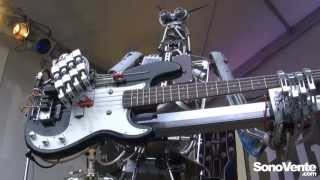 Compressorhead Robocross - The Clash - Should i stay or should i go - Musikmessse 2013