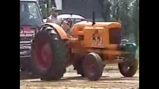 1940 Minneapolis Moline U tractor pull