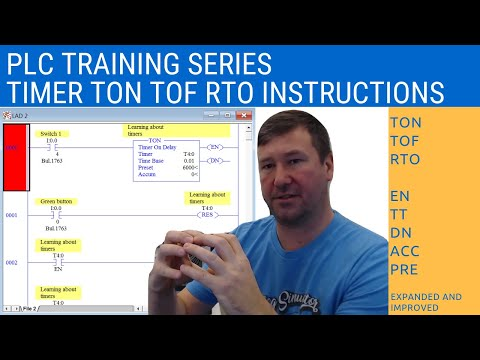 RsLogix 500 Training - Timers - TON, TOF, and RTO
