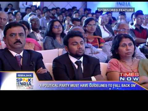Speak for India 2016 edition - Karnataka Final segment 1