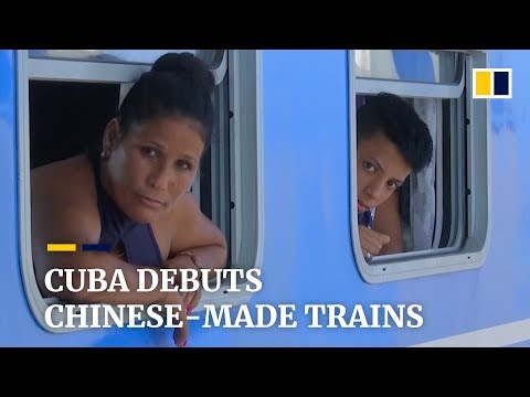 Cuba debuts Chinese-made trains