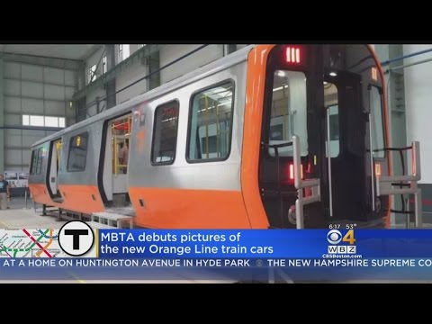New MBTA Orange Line Cars Being Built In Springfield