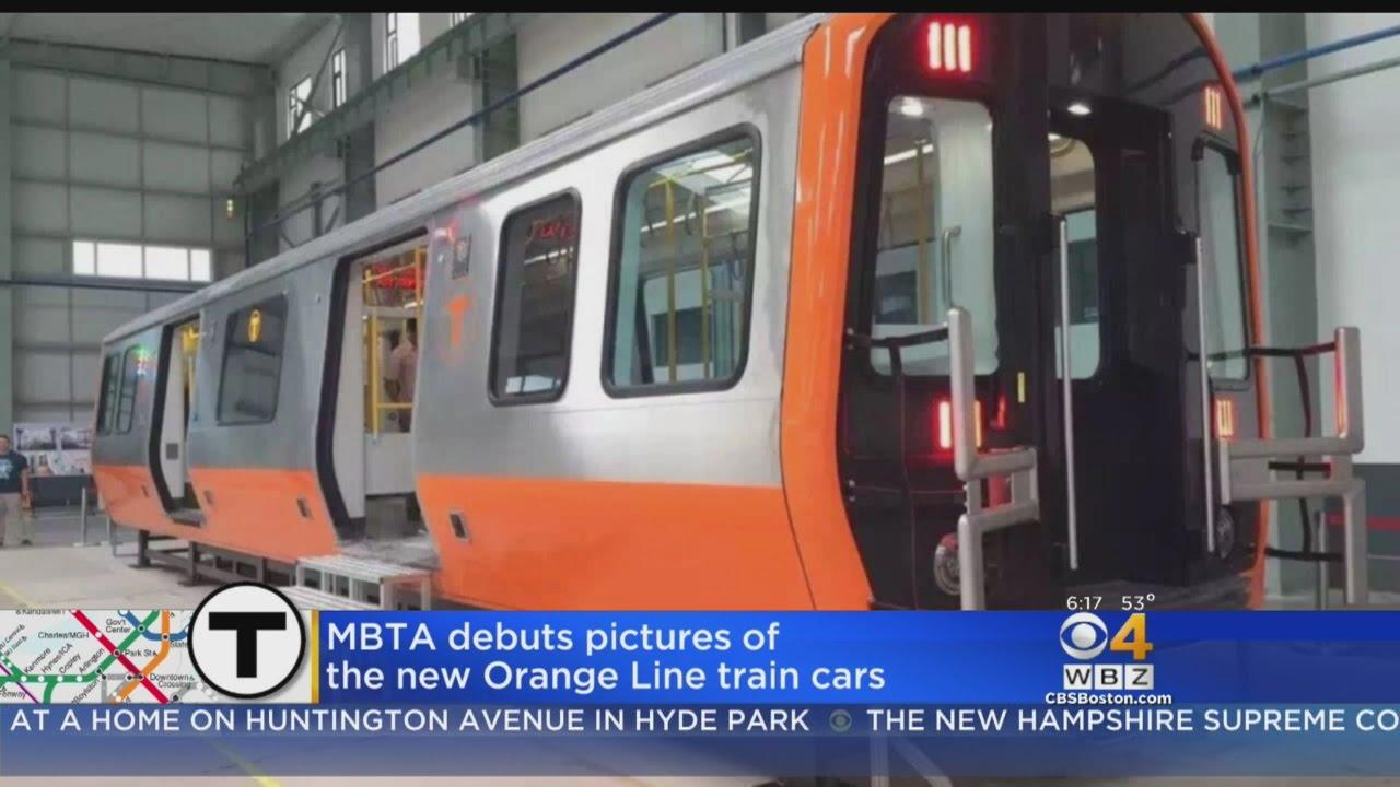 New mbta orange line cars being built in springfield youtube sciox Gallery