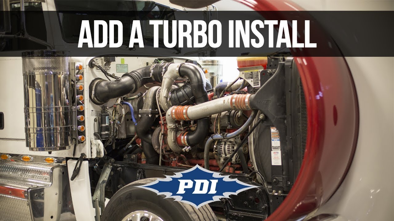 How to Install: PDI Add A Turbo Kit - Cummins ISX-15