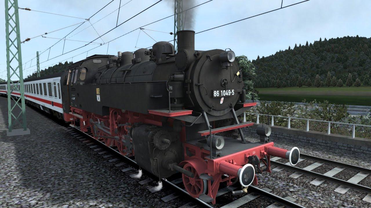 LET`S PLAY Train Simulator 2016 | Auf einer Abenteuerfahrt - YouTube