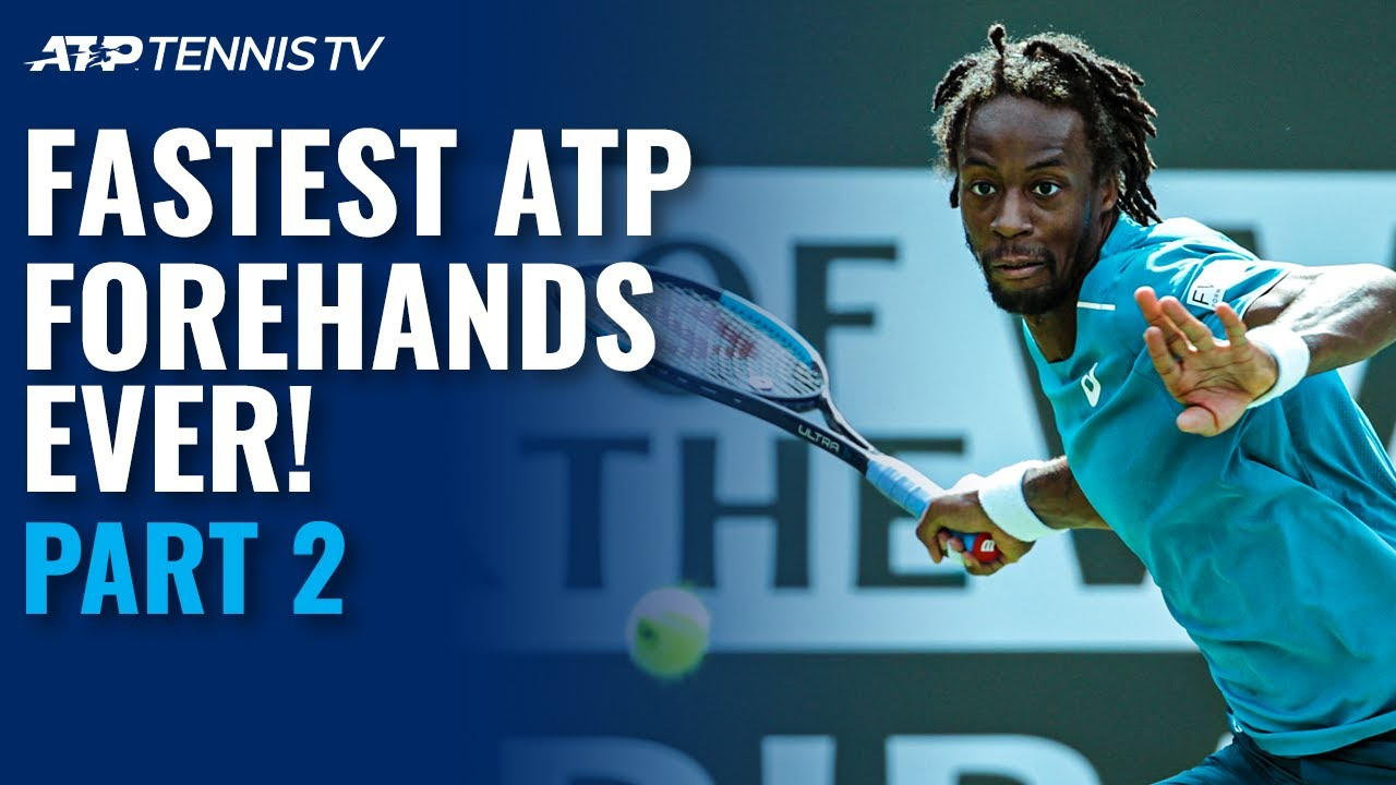 Fastest Ever ATP Forehands: Part 2 ⚡️
