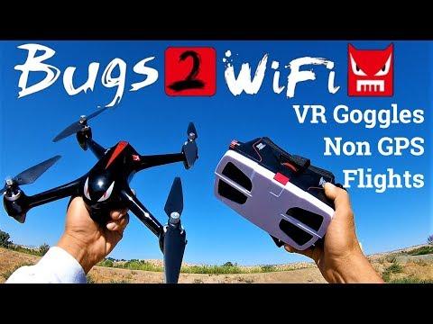 MJX B2W Bugs 2 WiFi FPV VR Goggles Non GPS flights